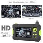 """Endoszkóp kamera IP67 vízálló (5 méter), 4,3"""" kijelzővel, HD 1080P, 8 LED-es"""
