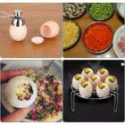 Kreatív tojásvágó (rozsdamentes acél)