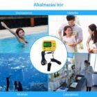 Medence és akvárium pH-mérő háttérvilágítással (pH-991)