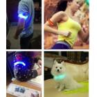 Világító LED karszalag színes