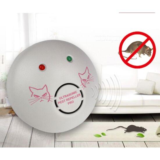 200m2 ultrahangos egér-, patkány- és kártevő riasztó (08850669)