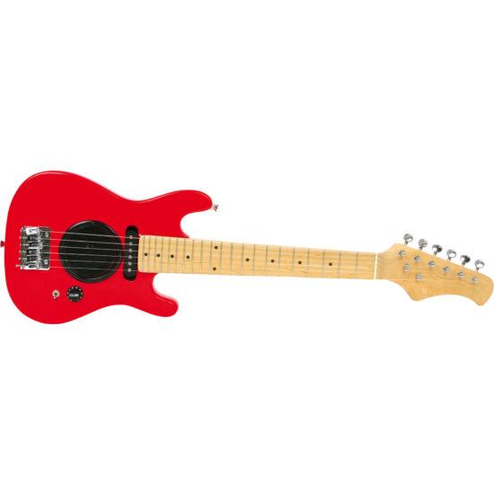 Elektromos gyerek gitár 6 fém húros 78cm e-gitár 5-11 éveseknek
