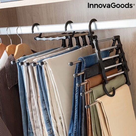 InnovaGoods  nadrágakasztó több nadrághoz 5 az 1-ben Hanglite
