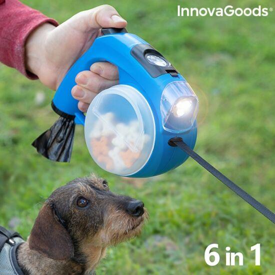 InnovaGoods 6 az 1-ben visszahúzható póráz kutyáknak