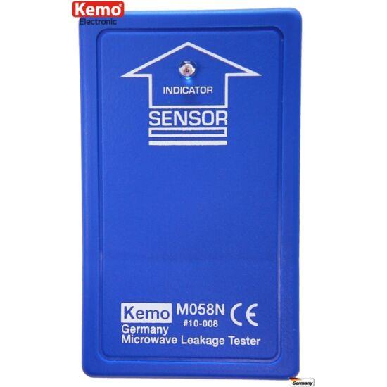 KEMO M058 mikrohullám sugárzásmérő, mikrohullámú sütő mérő tesztelő műszer