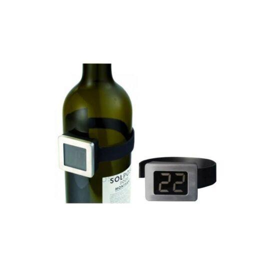 Digitális borhőmérő palack - ital hőmérő