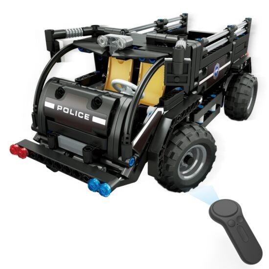 DIY távirányítós SWAT csapatszállító jármű (468 db-os)