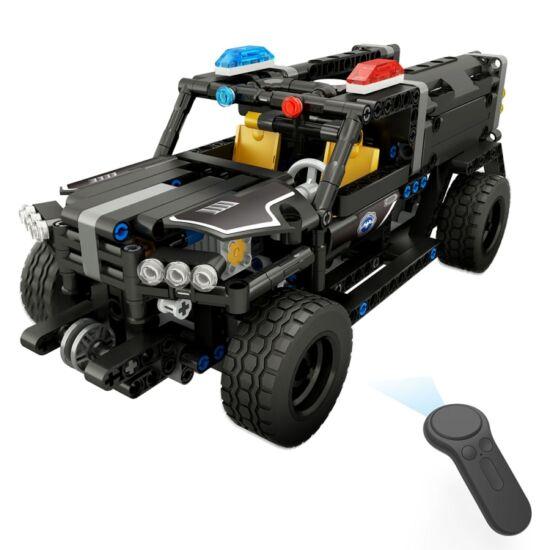 DIY távirányítós SWAT vízágyús teherautó (431 db-os)