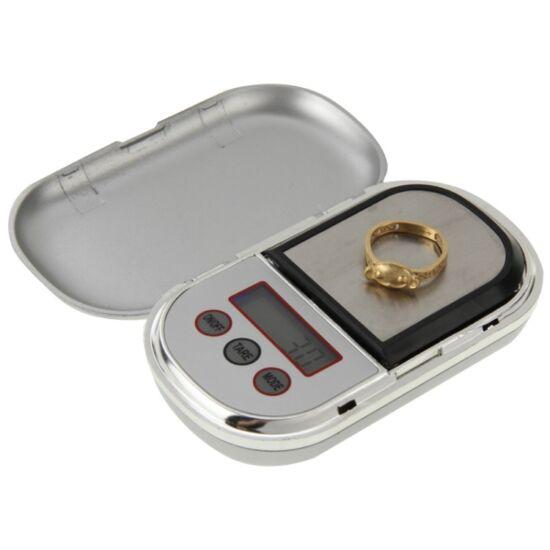 Digitális mini ékszer mérleg zsebmérleg 500g - 0,1g