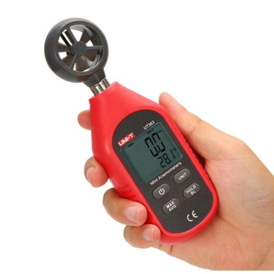 Digitális szélmérő, anemométer UNI-T (UT363)