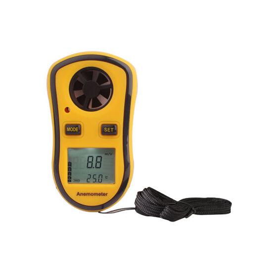 Digitális szélmérő, szélsebességmérő (anemometer)