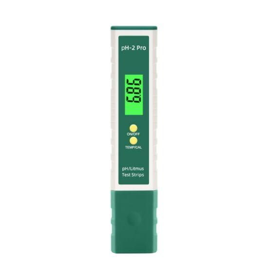 Digitális pH mérő, hőmérő ( PH-2)