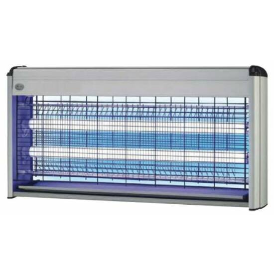 Elektromos rovarcsapda, UV fénnyel, 40W (2x20 Watt) 80 m2