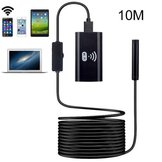 Endoszkóp kamera 8 mm (10 méter) WiFi-s, (iOS, Android, Windows), IP67 (kemény)