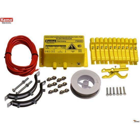 KEMO FG025SET villanypásztor készlet kisállatokhoz