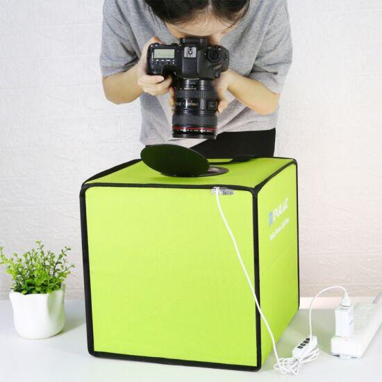 Fotódoboz összecsukható 30 cm 6 színű háttérrel