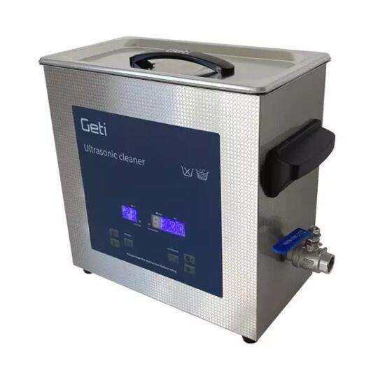 Ultrahangos mosó, tisztító, 6 liter, rozsdamentes tartály (GUC06B)