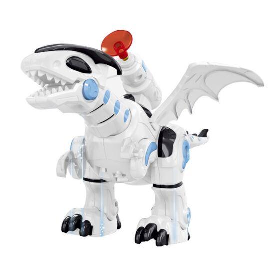 Harci dinoszaurusz játék kilövővel