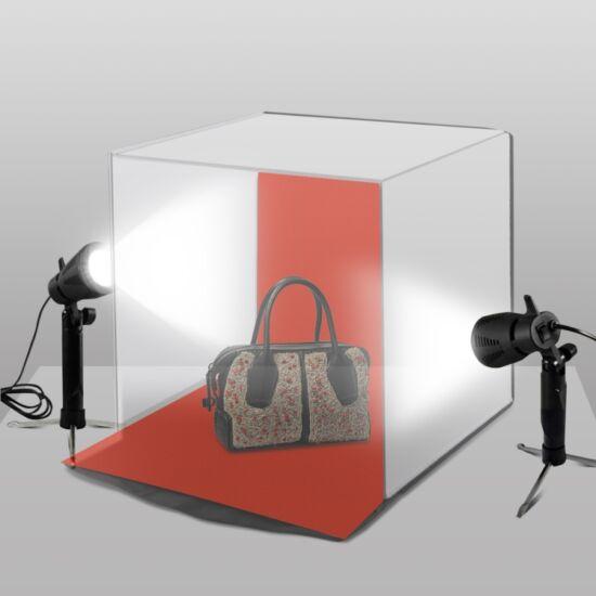 Hordozható fotó lámpa 6W SMD LED 2 db-os készlet