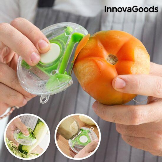 InnovaGoods 4 az 1-ben forgó vágó-hámozó