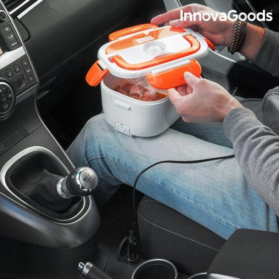InnovaGoods elektromos autós ételtartó 40W 12V fehér-narancssárga