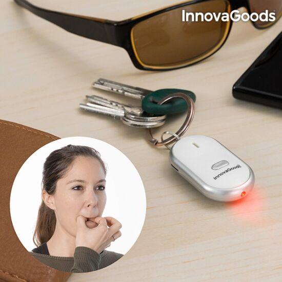 InnovaGoods fütyülős kulcskereső kulcstartó LED lámpával