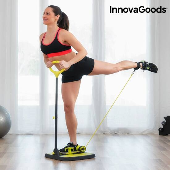 InnovaGoods fitness platform fenékre és lábra /gyakorlati útmutatóval/