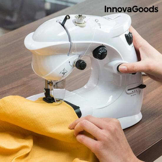 InnovaGoods kompakt varrógép 6V 1000 mA fehér