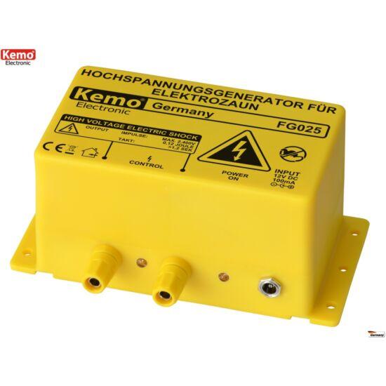 KEMO FG025 nagyfeszültségű generátor villanypásztorhoz