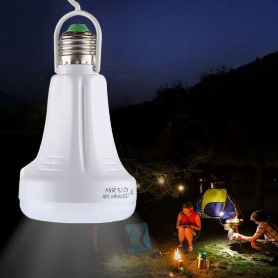 Kemping lámpa, zseblámpa tölthető 9W