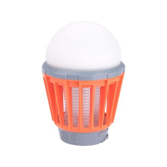 Elektromos szúnyogriasztó (UV) 25m², LED kemping lámpa (180 lm) (43131)