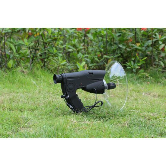 Madármegfigyelő távcső mikrofonnal, hangrögzítős