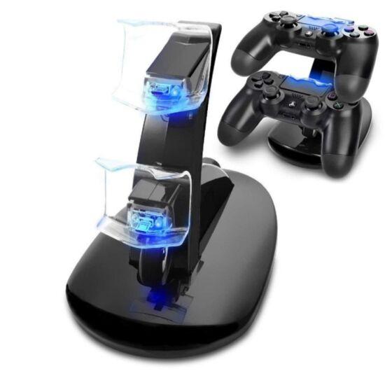PS4 kontroller töltő állvány, Dual Charger