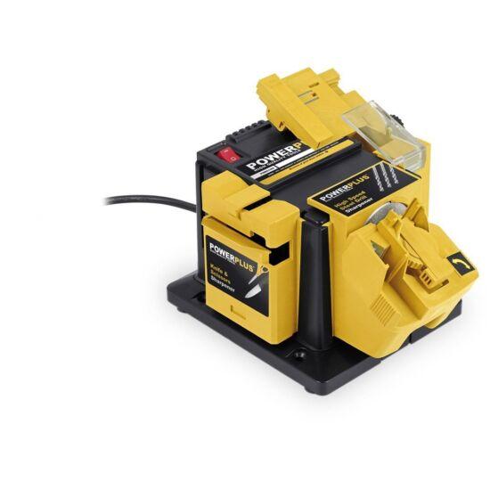 PowerPlus sárga többfunkciós élező 90W (POWX1350)