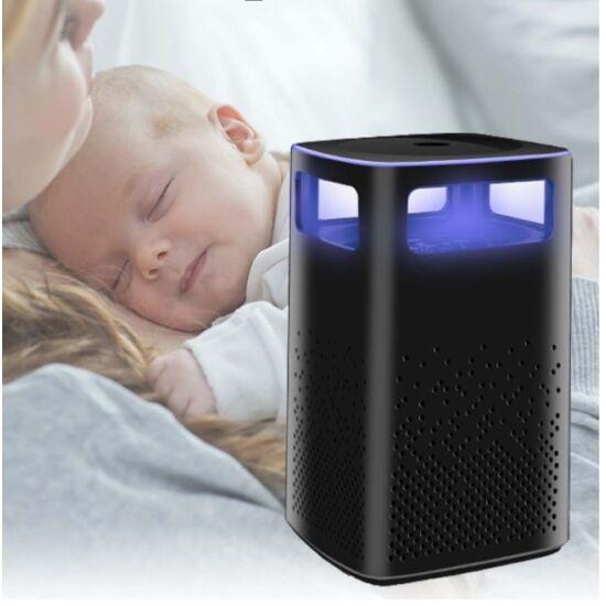 Rovarcsapda ventilátoros UV fénnyel oszlopos (fekete)