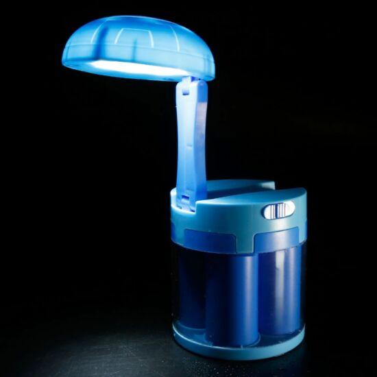 Sós vízzel működő kempinglámpa