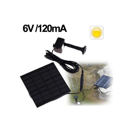Napelemes mini szökőkút kerti tó SOLAR szivattyú készlet