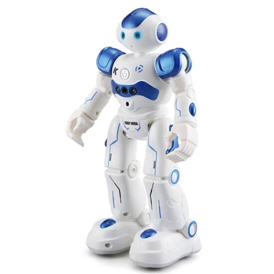 Táncoló robot mozgásérzékelős, távirányítós kék