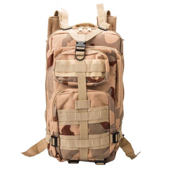 Taktikai hátizsák terepszínű