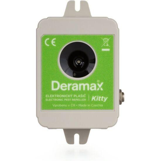 Ultrahangos kutya- és macskariasztó (DERAMAX KITTY)
