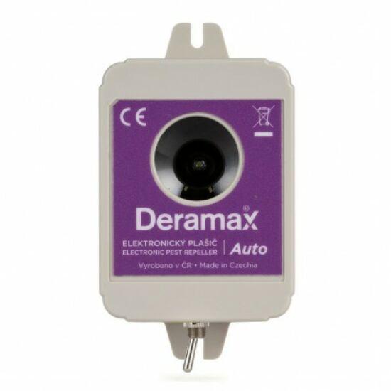 Ultrahangos nyest- és rágcsáló riasztó (DERAMAX AUTO)