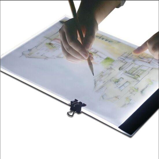 Ultravékony LED rajztábla A4 méret 2,8W