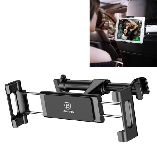 Univerzális fejtámlára szerelhető autós tablet tartó (Baseus SUHZ-01)