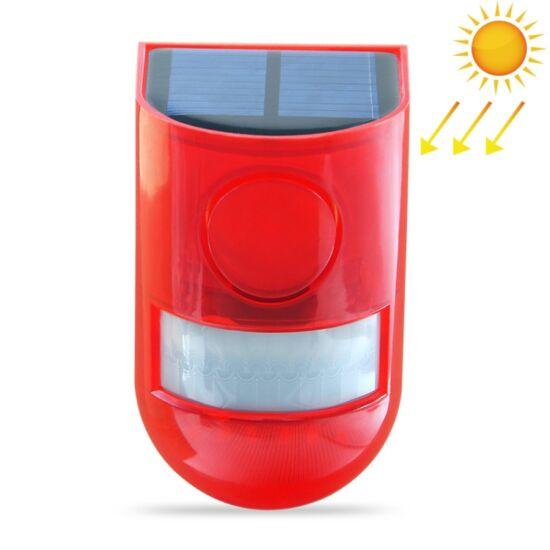 Vezeték nélküli riasztó 110dB, napelemes, mozgásérzékelős, (IP65)