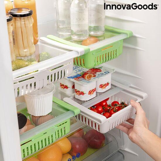 InnovaGoods állítható hűtőszekrény-szervező FRIWER (2 darab)
