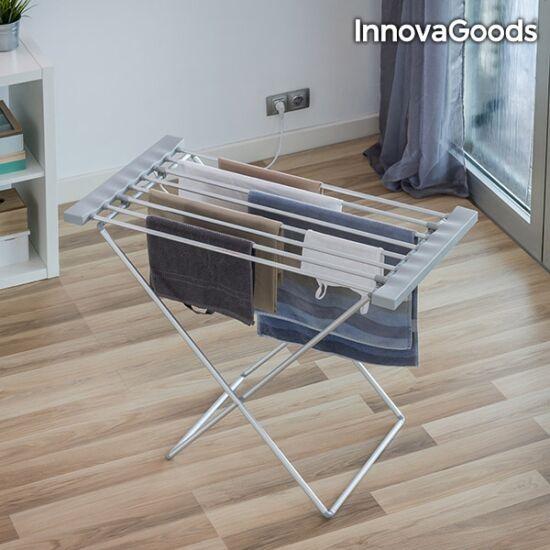 InnovaGoods 120W szürke elektromos ruhaszárító (8 rúd)