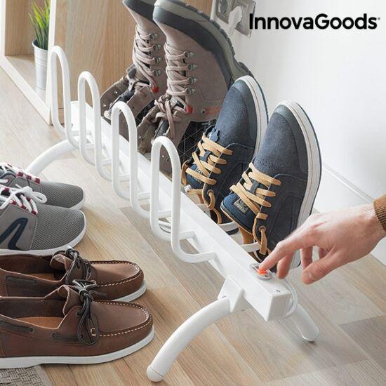 InnovaGoods elektromos lábbeli szárítóállvány 80W fehér