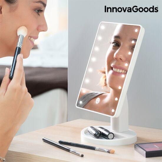 InnovaGoods érintős asztali tükör LED-del