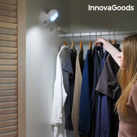 InnovaGoods LED lámpa mozgásérzékelővel