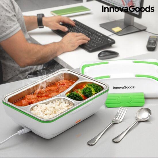 InnovaGoods PRO elektromos ételmelegítő 50W fehér zöld